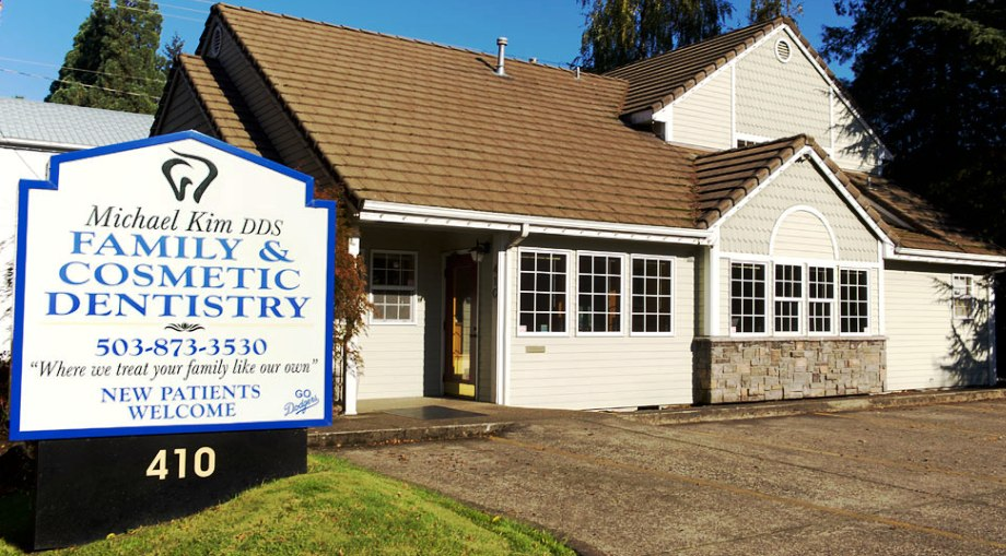 Dr Michael Kim Family Dental Practice Office in Silverton, Oregon